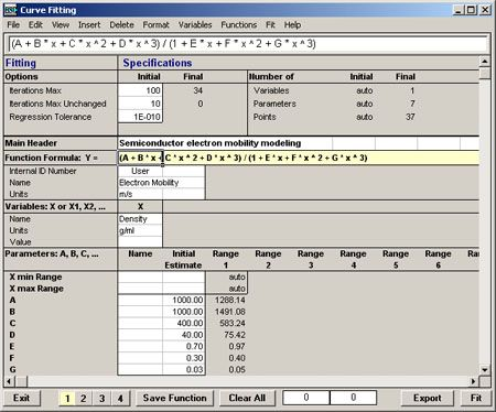 Hsc chemistry software for process simulation reactions equations the hsc sim data fit module offers versatile multi regression curve fitting and statistical properties for linear and nonlinear functions ccuart Choice Image